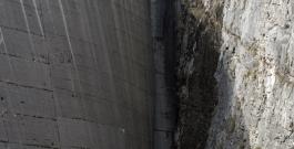 diga del vajont, versante friulano / vajont dam, friuli side, 2014 - photo giacomo de donà