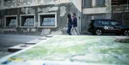 debora serracchiani at the nuovo spazio di casso - photo: giacomo de dona