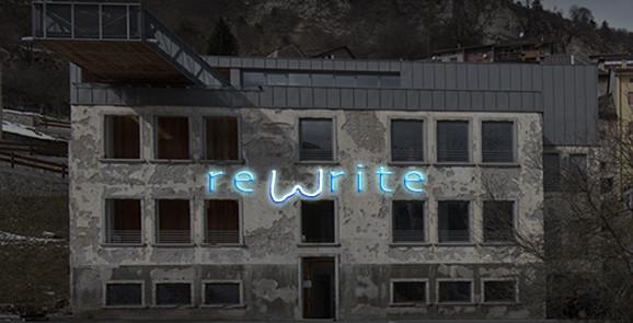 Dimitri Giannina - Remrite-rewrite - Vincitore di a call for a wall